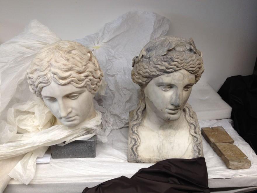statue ercolano