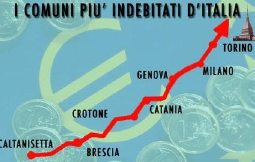 Comuni più indebitati d'Italia