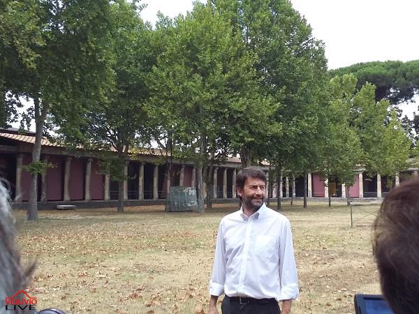 Dario Franceschini Palestra grande Pompei