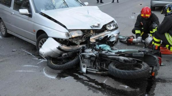 Incidente motocicletta