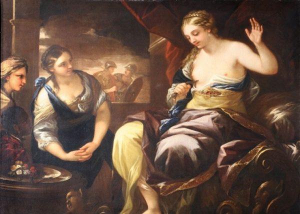 La morte di Cleopatra, Luca Giordano