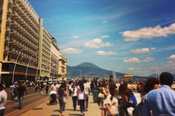 Lungomare Napoli via Partenope
