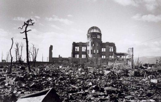 Macerie a Hiroshima