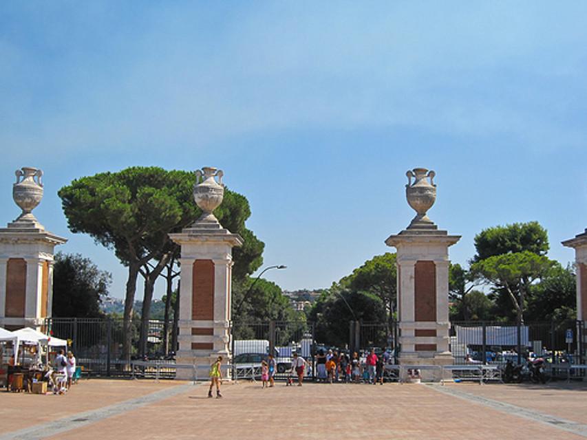 restauro Parco Virgiliano Posillipo
