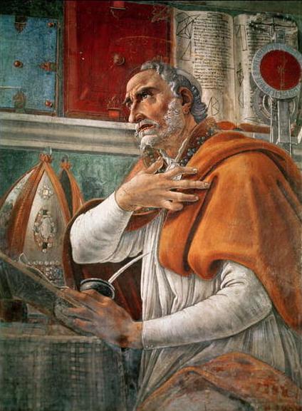 Sant'Agostino, Sandro Botticelli