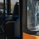Vetro rotto autobus