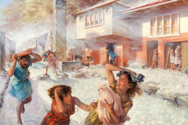 eruzione Vesuvio 79 d. C.