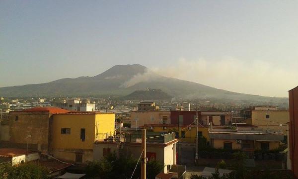 Incendio Vesuvio