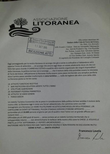 Lettera Lavela