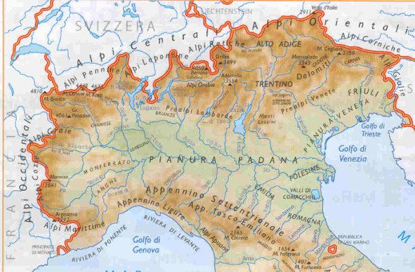 Nord Italia evasione fiscale
