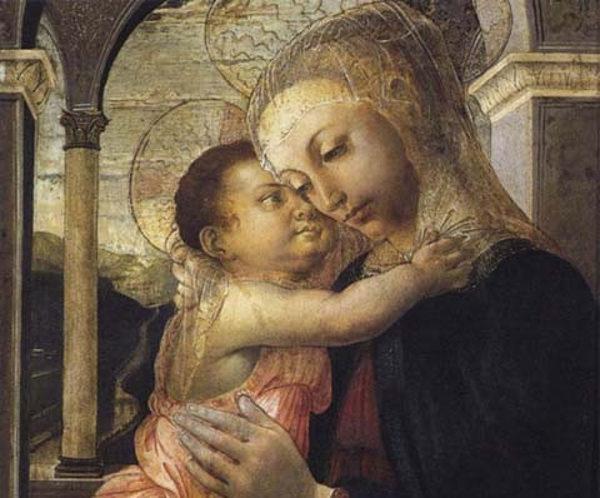Sandro Botticelli - Madonna della Loggia - Santa Maria