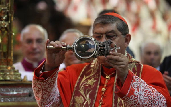 San Gennaro, il sangue trovato già sciolto all'apertura della cassaforte