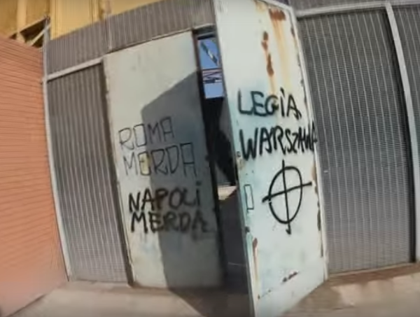 stadio san paolo legia varsavia ultras