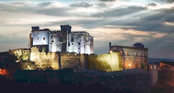 Castello di Limatola sky