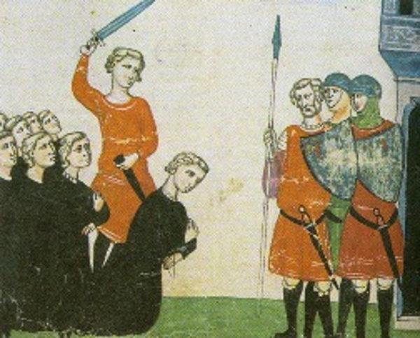 Corradino viene decapitato a Napoli