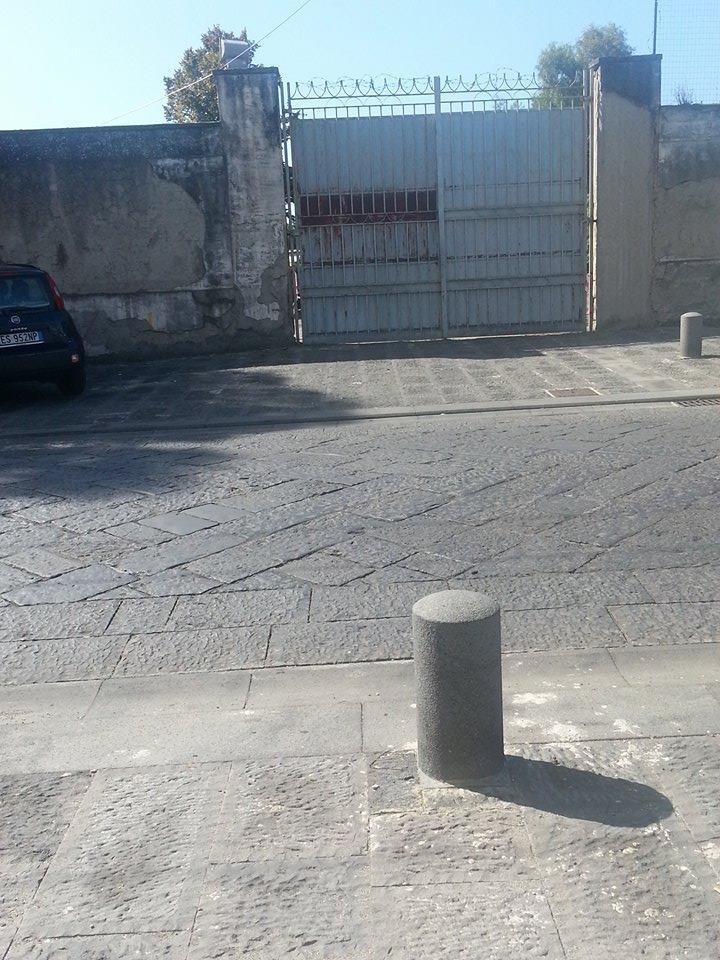 Ingresso Parcheggio area demanio corso resina2