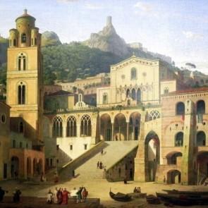 Klenze_Domplatz_Amalfi