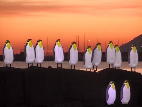 Luci d'Artista - pinguini