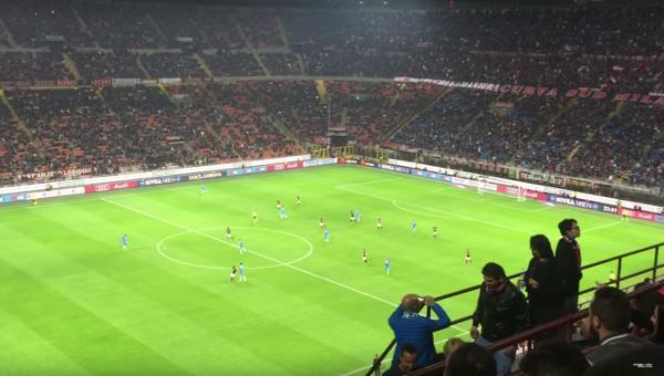 Milan-Napoli 0-4 'o surdato nnammurato