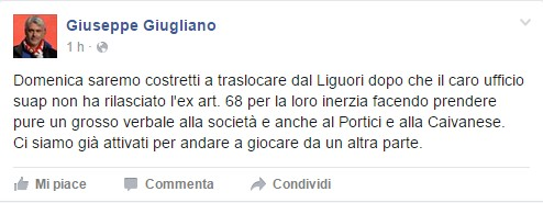 Giuseppe Giugliano Facebook