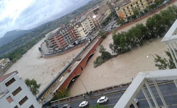 benevento alluvione