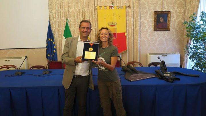 premiazione Mariafelicia Carraturo
