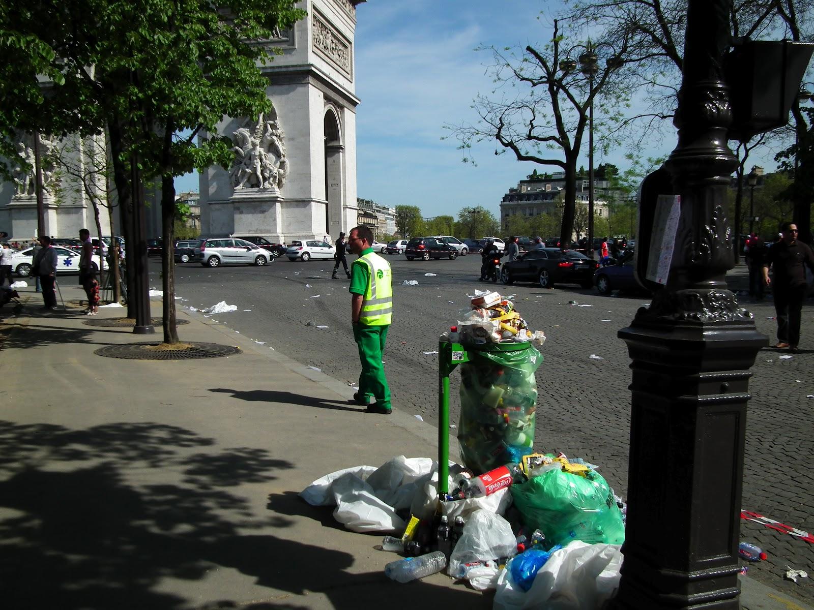Imagini pentru Parigi e sporca foto