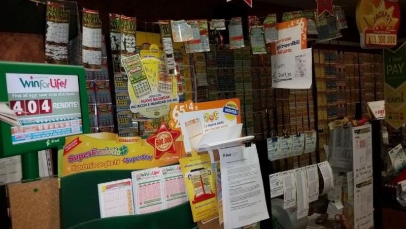 tabaccheria ricevitoria lotto-superenalotto
