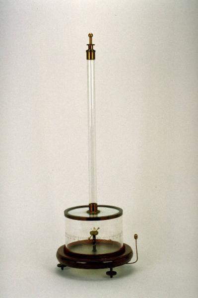 Elettrometro bifilare ad induzione di Palmieri