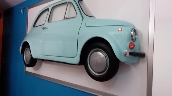 Quadro Fiat 500 in cornice, The Props Maker
