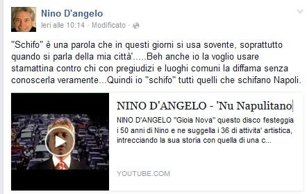 Pagina fb Nino d'Angelo