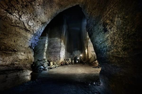 panoramica tunnel borbonico