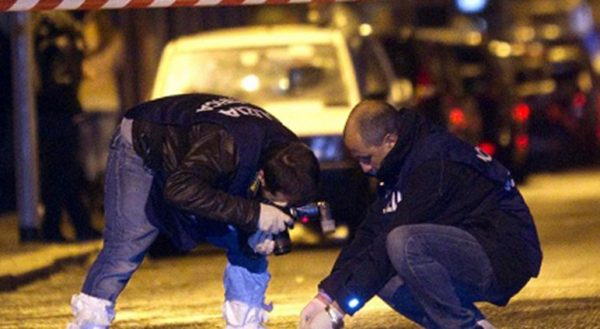 polizia scena crimine