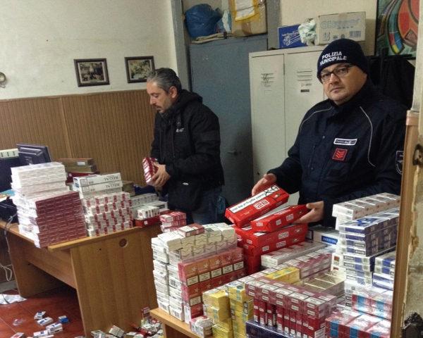 sequestro sigarette contrabbando napoli