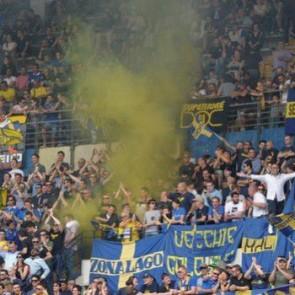 Napoli-Verona tifosi