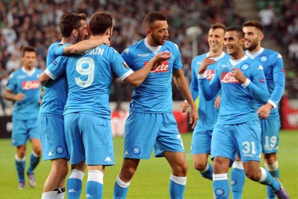 Legia-Varsavia-Napoli 0-2