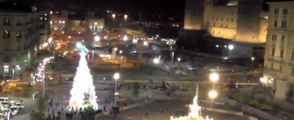 albero natale piazza municipio