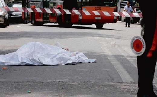 cadavere morto lenzuolo