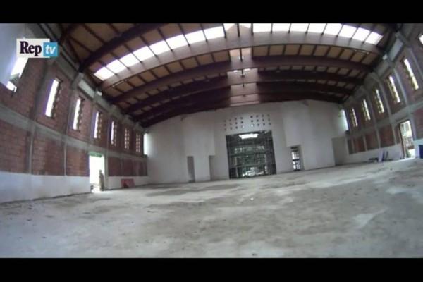 interno chiesa vele