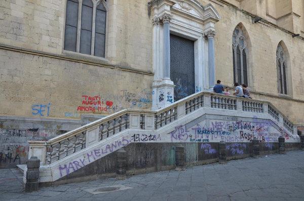 monastero basilica santa chiara vandali