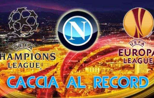 Napoli record Europa League Champions League