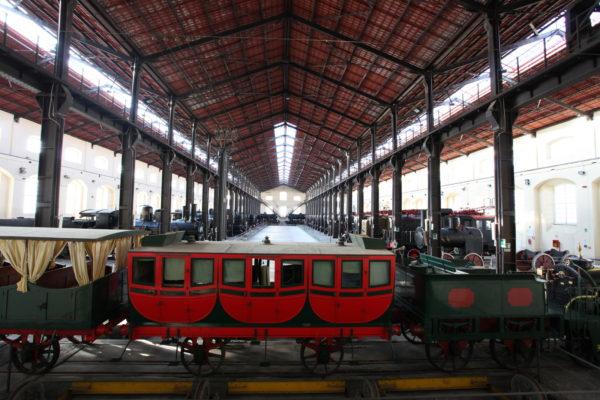 Sala Locomotive Museo Ferroviario di Pietrarsa