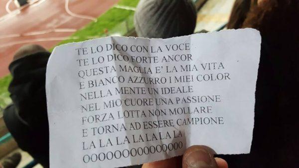 Coro Tifosi Napoli