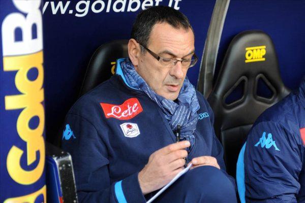 Maurizio Sarri formazioni