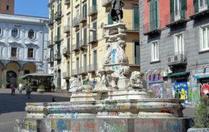pulizia straordinaria fontane napoli