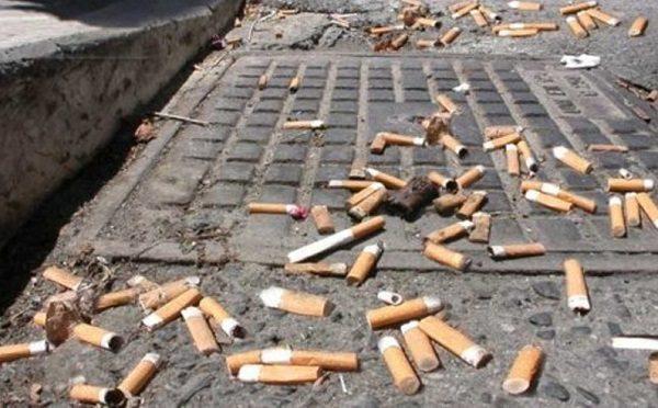 mozziconi sigarette