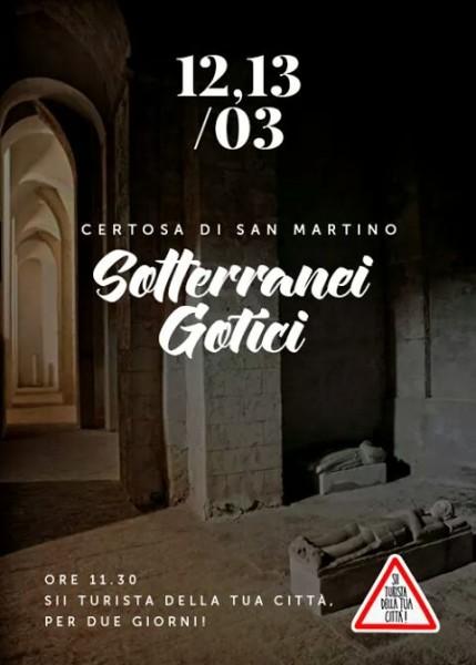 sotterranei gotici san martino visita guidata