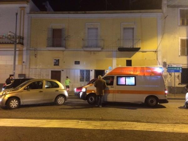 Ambulanza Incidente Torre del Greco - Leopardi