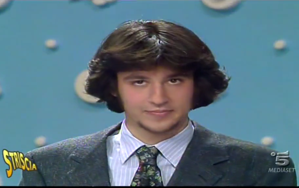 Matteo Salvini da giovane