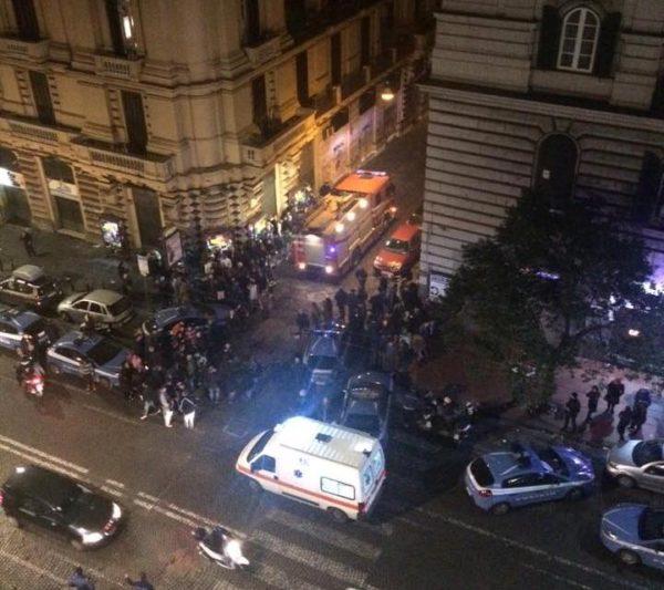 Napoli esplosione piazza borsa